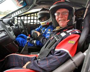 V8 Hot Laps with John Bowe - Sandown Raceway, Melbourne