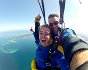Skydiving Over The Beach Rockingham Perth - Weekday Tandem Skydive Up To 15,000ft WINTER SPECIAL!