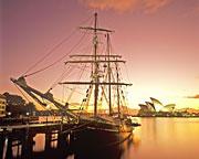 Sailing, Tall Ship Twilight Dinner Cruise - Sydney