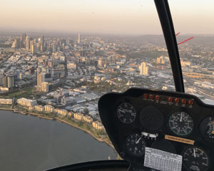 Helicopter Scenic Flight, 15-20 Minutes - Brisbane FRONT SEAT GUARANTEE