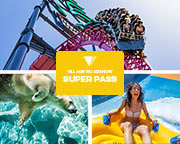 7 Day Super Pass: Warner Bros. Movie World, Sea World & Wet'n'Wild Gold Coast