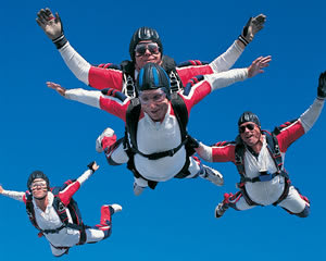 Tandem Skydive 14,000ft, Weekends - Sydney