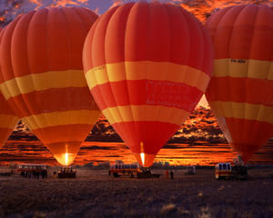 Hot Air Ballooning, 60 Minute Flight - Alice Springs