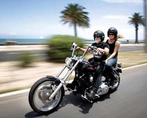 Harley Ride 1 Hour Joy Ride - Melbourne