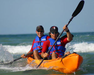 Sea Kayaking Noosa, Ocean Tour