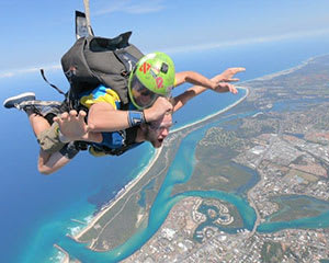 Skydiving Gold Coast - Beach Tandem Skydive 12,000ft