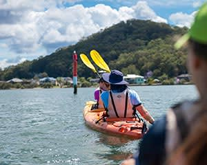 Kayaking - Pelicans, Wine and Oysters, Central Coast
