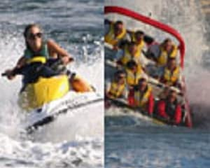 Jet Boat Ride & Jet Ski Circuit For 2, 1.5 hour - Gold Coast