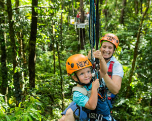 Jungle Surfing - Cape Tribulation QLD