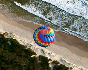 Champagne Hot Air Balloon Flight - Byron Bay