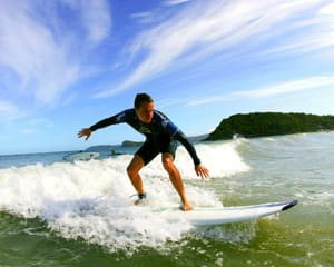 Surfing, 1hr Group Lesson - Central Coast