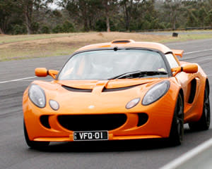 Hot Laps in a Lotus Exige - Lakeside Circuit