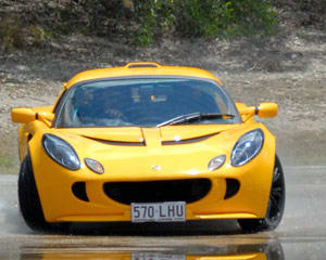 Skid Pan Driver Training in a Lotus Exige - Mount Cotton, Queensland