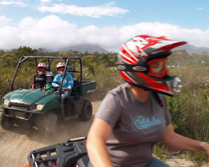 Quad Bike Half Day Explorer - Freycinet National Park, Tasmania