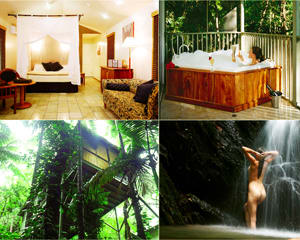 Spa Weekend Escape, Private Rainforest Hideaway - Daintree QLD