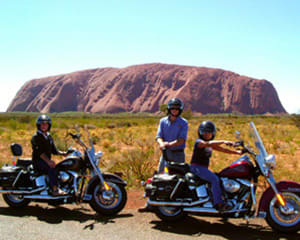 Harley Davidson Uluru Tour at Sunrise/Sunset, 1.5hr - NT