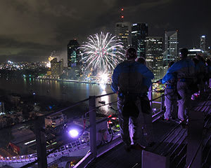 Story Bridge Adventure Climb, Night Climb - Brisbane