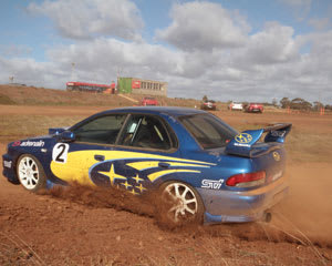 Rally Driving, 16-lap Subaru Turbo Drive PLUS 1 HOT LAP - Melbourne
