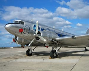 King Island Lunch DC3 Fly-in for 2 - Melbourne Fly & Dine