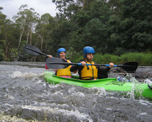 White Water Kayaking, Half Day - Yarra River, Melbourne