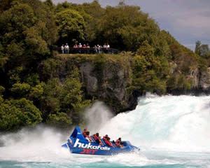 Jet Boat Rides - Huka Falls, Taupo NZ