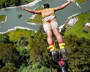Bungee Jumping Rotorua, New Zealand