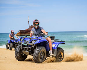 Quad Biking Sand Dune Safari - Port Stephens, Stockton Sand Dunes