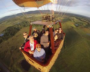 Hot Air Ballooning, Weekday Flight - Pokolbin, Hunter Valley (Flight Only)