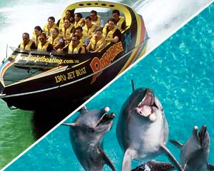 Jet Boat Ride and SeaWorld Adventure Pass - Gold Coast