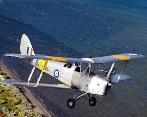 Tiger Moth, Scenic Joy Flight, 45 minute - Point Cook, Melbourne