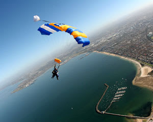 Skydiving Over The Beach St Kilda, Melbourne - WEEKDAY SPECIAL Up To 15,000ft
