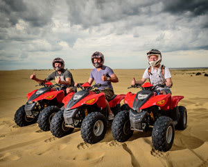 Quad Biking Sandpit Adventure - Port Stephens, Stockton Sand Dunes