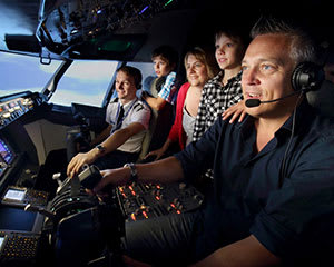Boeing 737 Flight Simulator Brisbane - 60 Minute City Flyer