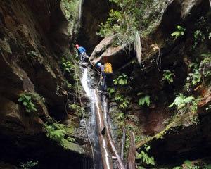 Canyoning, Juggler Canyon - Blue Mountains