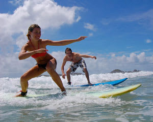 Surfing Lesson, Half Day - Byron Bay