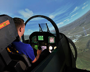 F/A-18 Jet Fighter Simulator, 60 Minutes WEEKEND - Brisbane