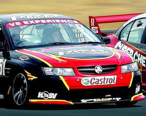 V8 Race Car Ride, 6 Laps Holden or Ford (FRONT SEAT!) - Queensland Raceway