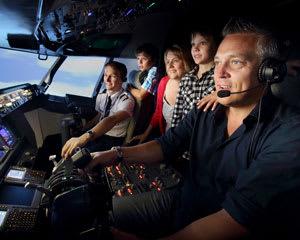 Boeing 737 Flight Simulator Darling Harbour, Sydney - 1 Hour Shared Flight For Up To 3!
