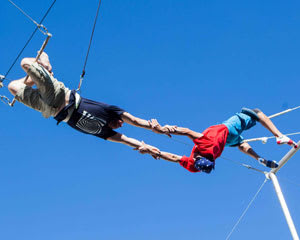 Trapeze Lesson for 2, Learn The Flying Trapeze, Outdoors - Brisbane