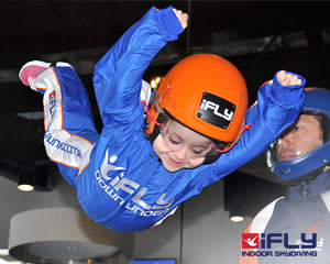 Indoor Skydiving Sydney, iFLY Basic (2 Flights) - WEEKDAY SPECIAL - NOW FLYING!