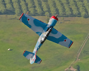 Aerobatics, Yak-52 Warbird Flight, 15-20 minute - Maitland Airport