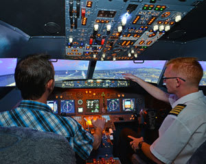 Flight Simulator, 60 Minute Flight - Adelaide