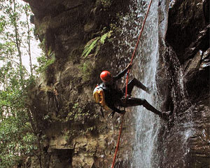 Canyoning Sydney, Empress Falls - Blue Mountains