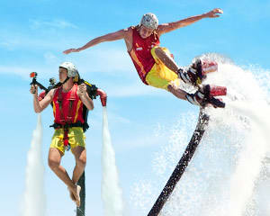 Jet Pack OR Board Flight, In-Water Training PLUS 10 Minute Flight - Sydney