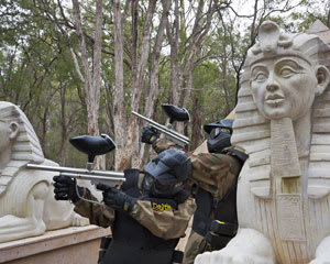 Paintball Perth (Muchea) - Entry, Full Day Games Plus 100 Paintballs