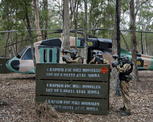 Paintball Sydney (Appin) - Entry, Full Day Games Plus 100 Paintballs