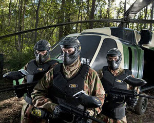Paintball Brisbane (Petrie) - Entry, Full Day Games Plus 100 Paintballs