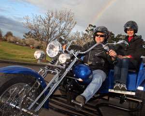 Trike Ride for 2, 1 Hour - Hunter Valley