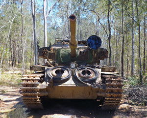 Tank Ride for 2, Ride in The Gun Turret of a Centurion Tank - Brisbane