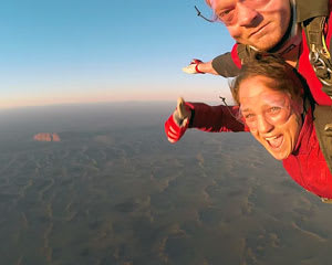 Skydiving Over Ayers Rock Uluru at Sunrise SPECIAL OFFER FOR 2
